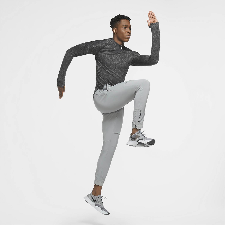 Nike Pro Flex Rep Pants - Particle Grey/Black