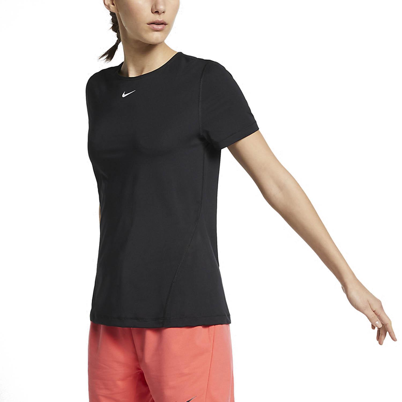 Nike Pro T-Shirt - Black/White