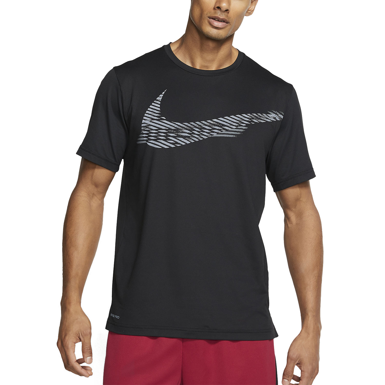 Nike Pro Swoosh T-Shirt - Black