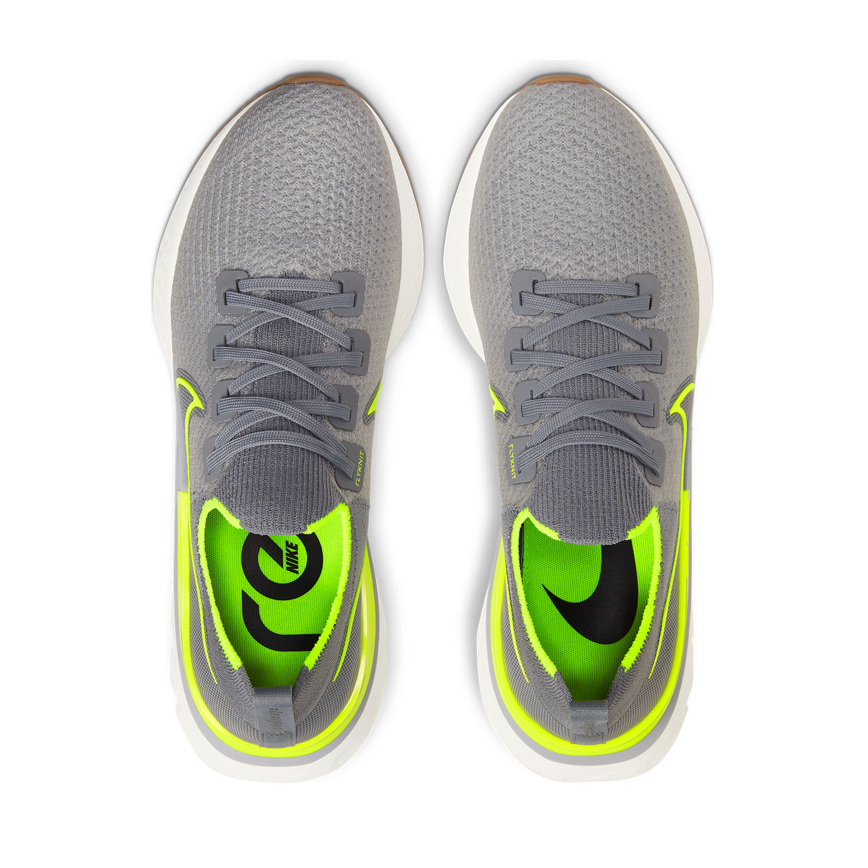 Nike React Infinity Run Flyknit Particle GreyVoltWolf GreySail
