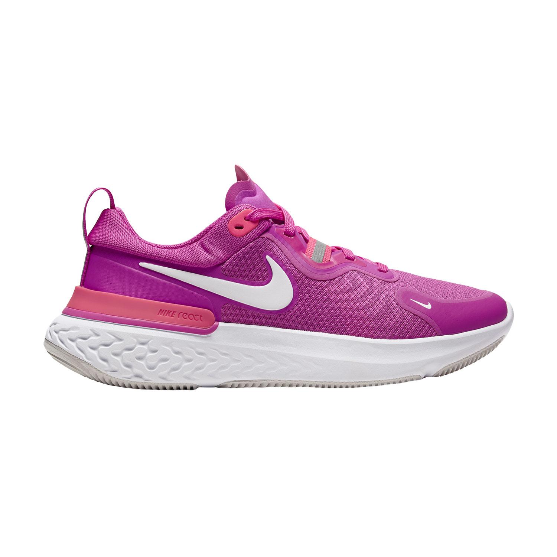 Nike React Miler - Fire Pink/White/Team Orange/Vast Grey
