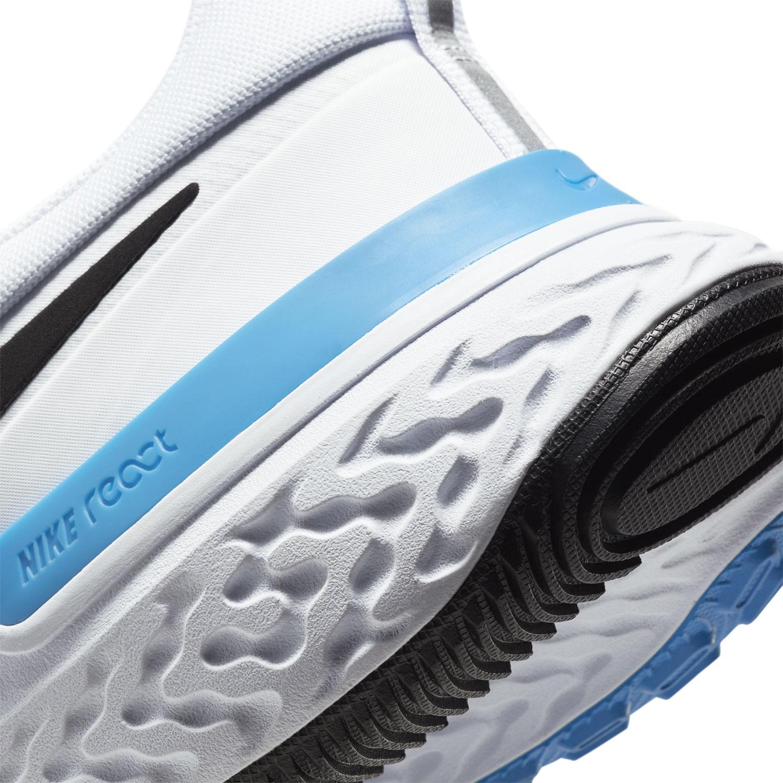 Nike React Miler - White/Black/Photo Blue