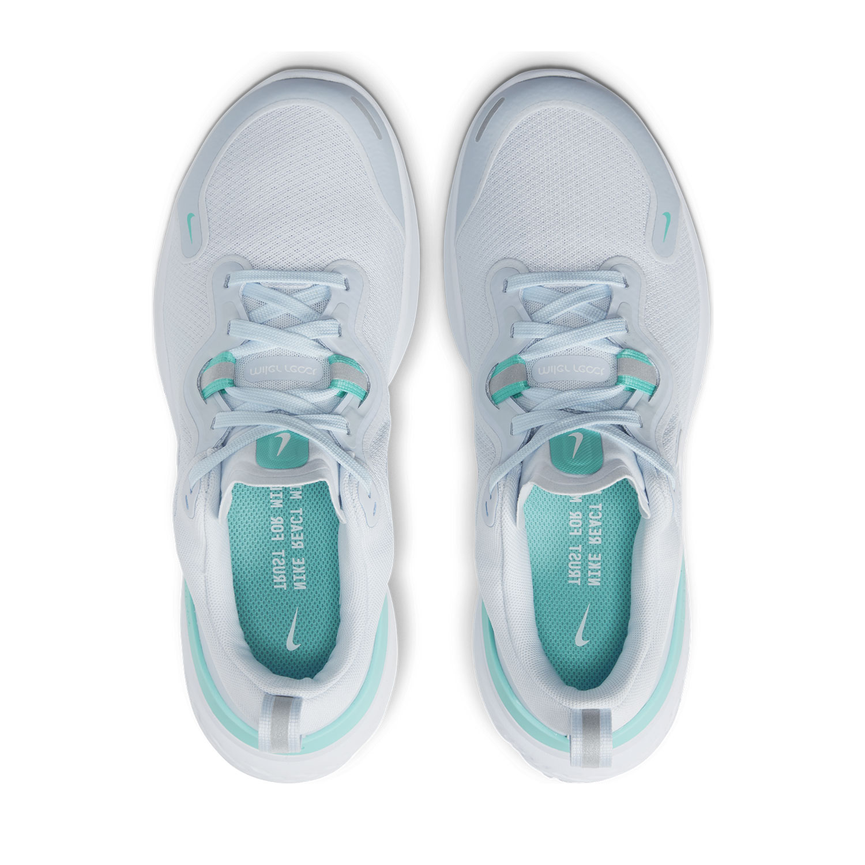 Nike React Miler - Football Grey/White/Aurora Green