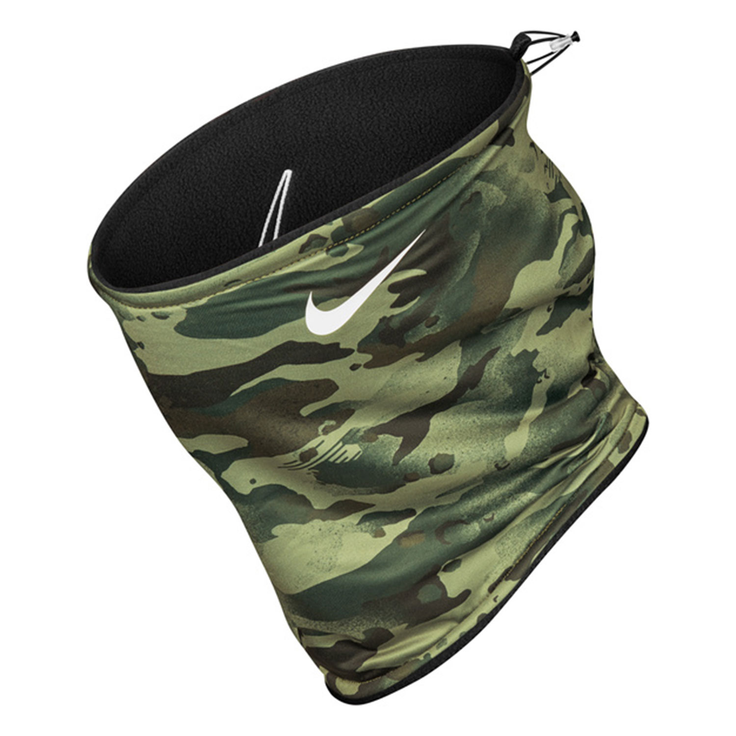 Nike Reversible 2.0 Neckwarmer - Black/Spiral Sage/White