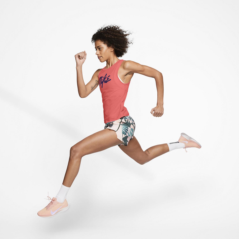 Nike Runway Tank - Magic Ember/Eggplant