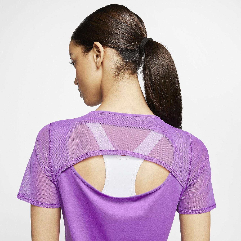 Nike Runway T-Shirt - Purple Nebula/White