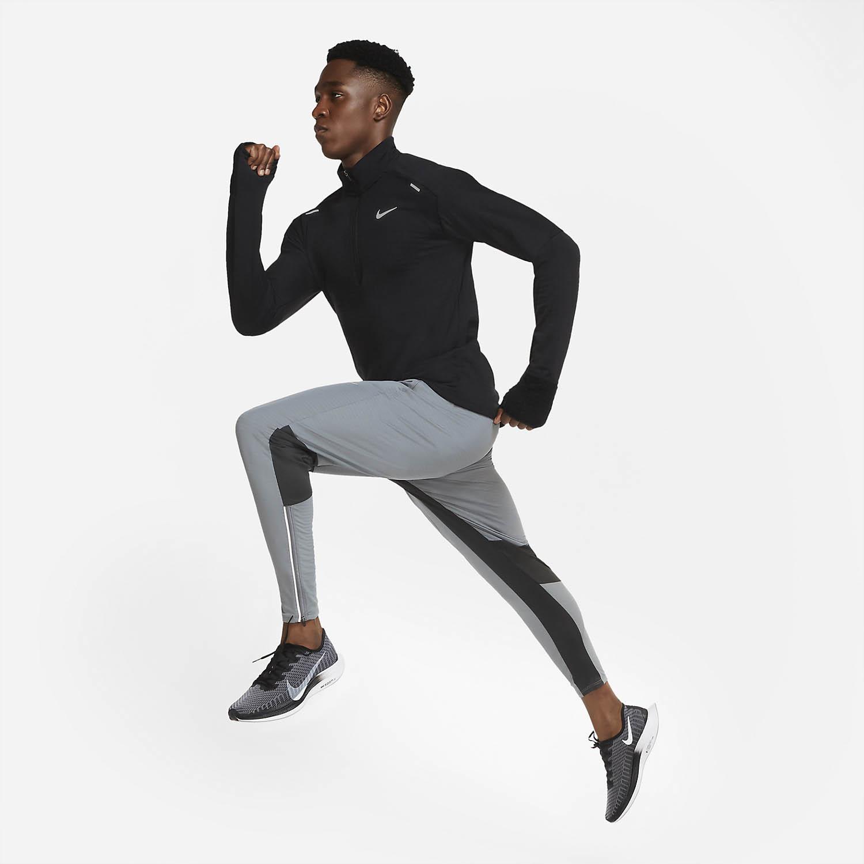 Nike Sphere Element Camisa - Black/Reflective Silver