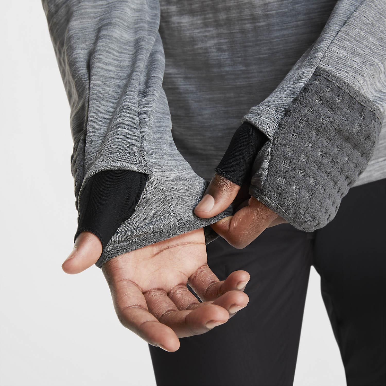 Nike Sphere Element Shirt - Iron Grey/Htr/Grey Fog/Reflective Silver