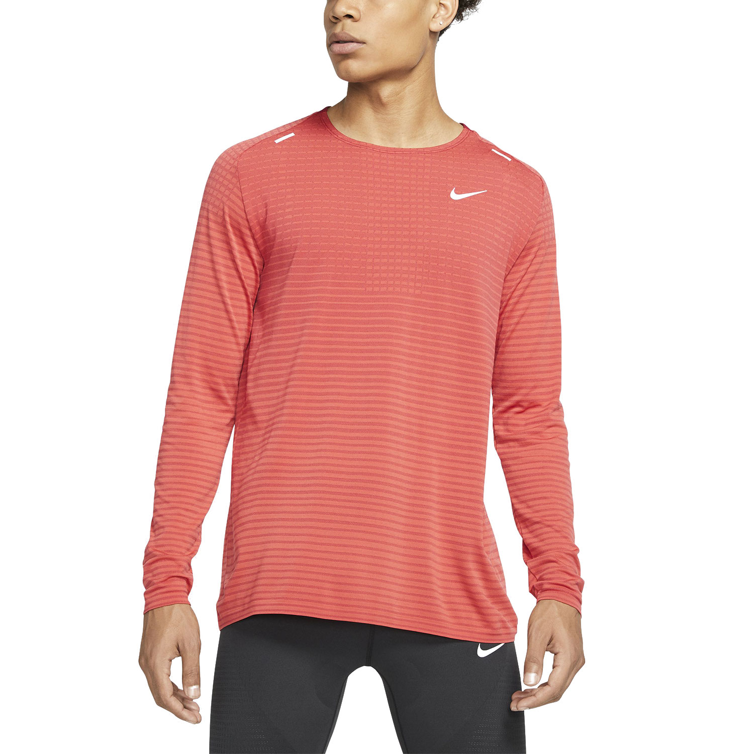 Nike TechKnit Ultra Shirt - Track Red/Noble Red/Reflective Silver