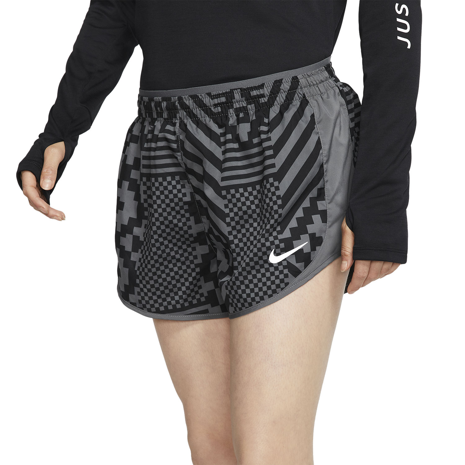 Nike Tempo Lux 3in Shorts - Iron Grey/Reflective Silver