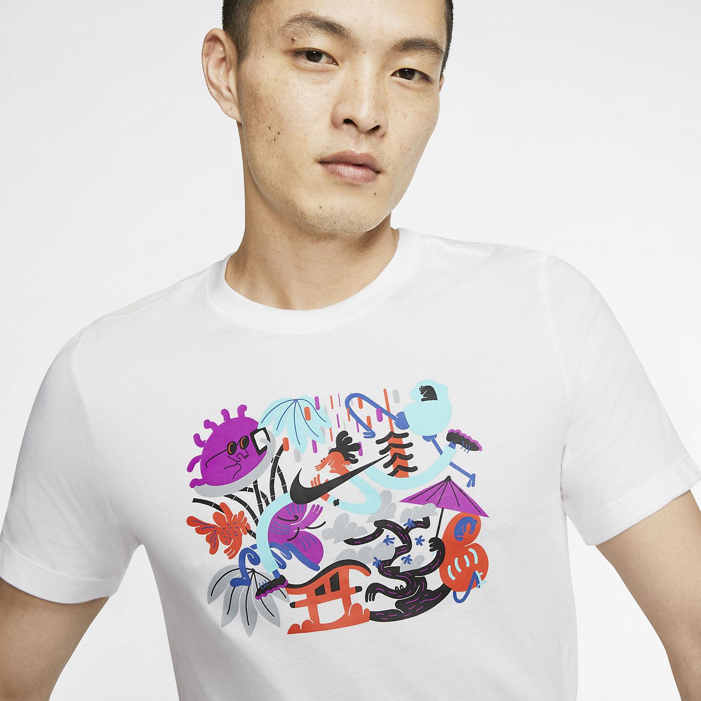 Nike Tokyo Dry T-Shirt - White