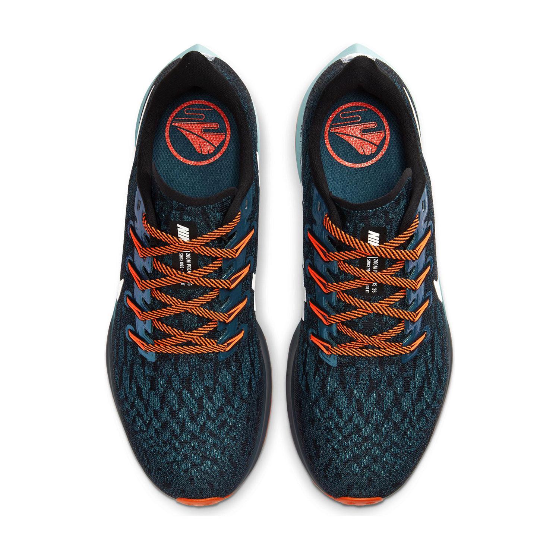 Nike Ekiden Air Zoom Pegasus 36 - Black/Metallic Summit White/Midnight Turquoise