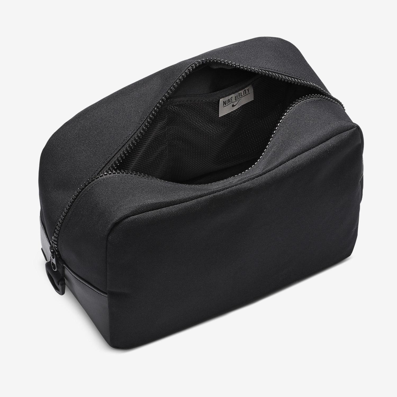 Nike Utility Shoes Bag - Black/Enigma Stone