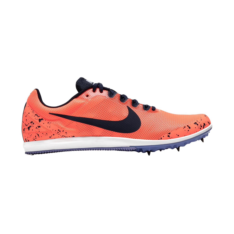 Nike Zoom Rival D10 - Bright Mango/Blackened Blue/Purple Pulse