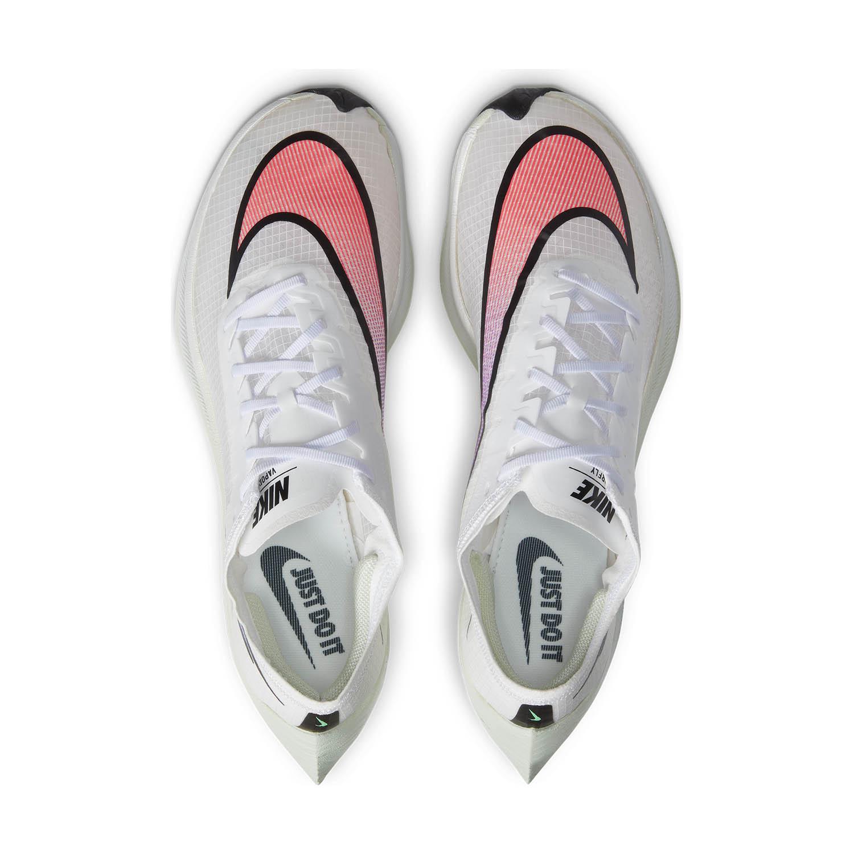 Nike ZoomX Vaporfly Next% - White/Flash Crimson/Black/Hyper Jade