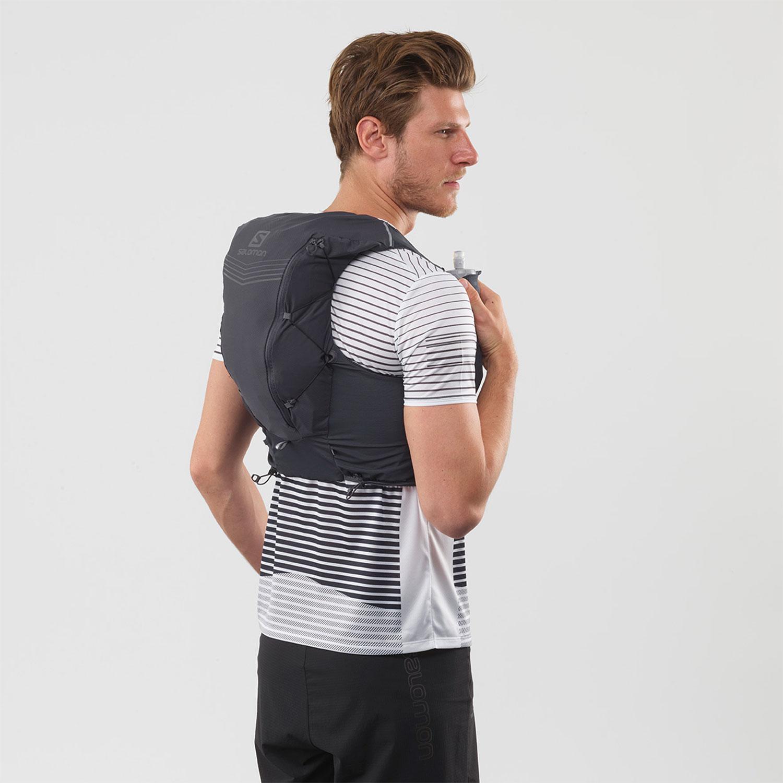 Salomon ADV Skin 12 Set Backpack - Ebony