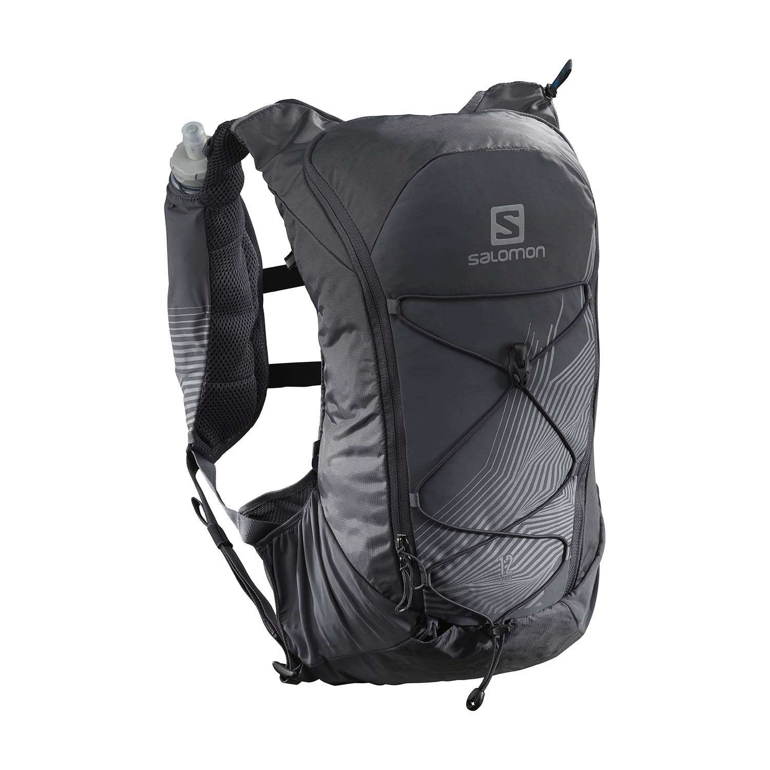 Salomon Agile 12 Set Nocturne Backpack - Black