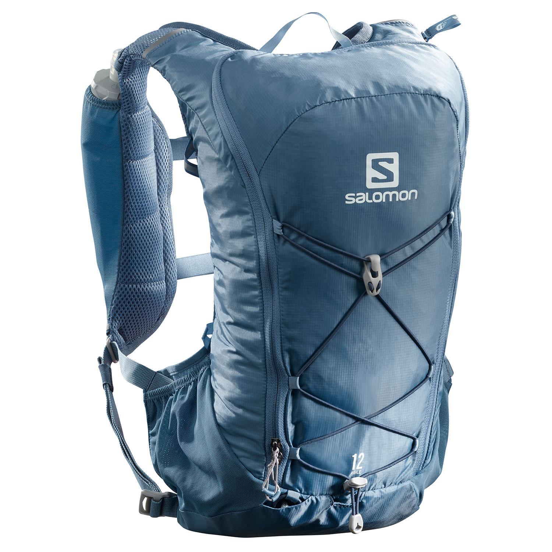Salomon Agile 12 Set Backpack - Copen Blue/Dark Denim