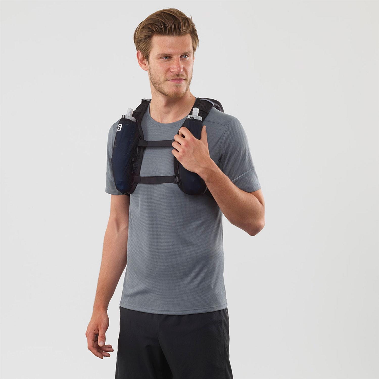 Salomon Agile 6 Set Backpack - Black