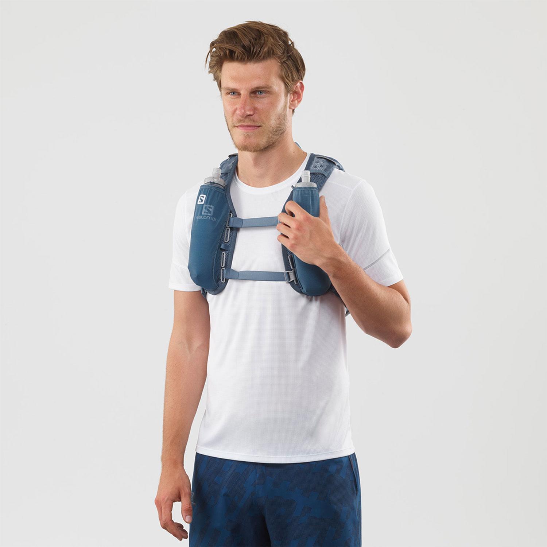Salomon Agile 6 Set Backpack - Copen Blue