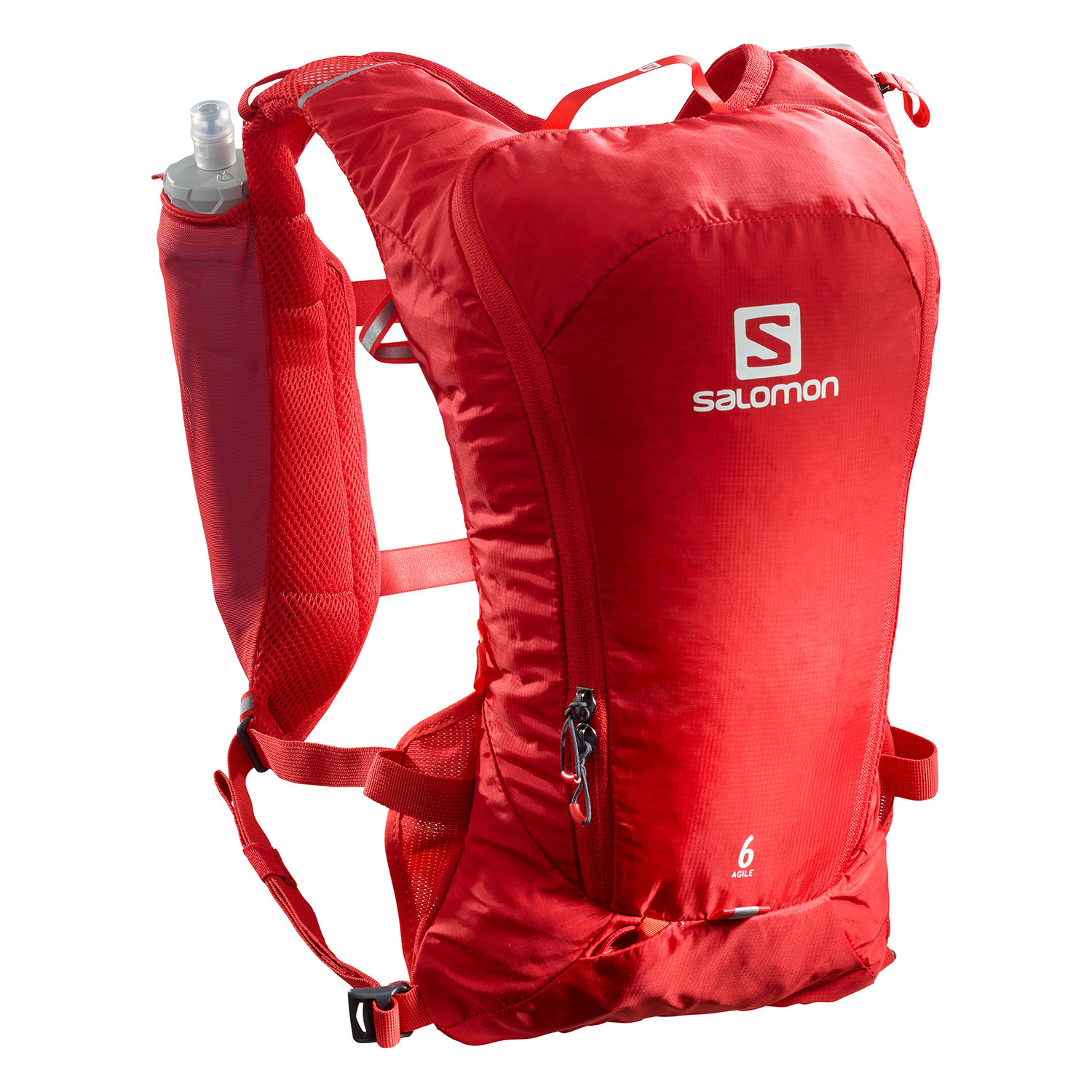 Salomon Agile 6 Set Backpack - Goji Berry