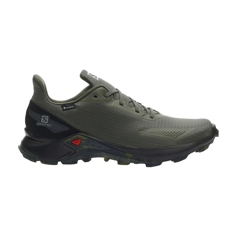 Salomon Alphacross Blast GTX Men's Trail Shoes - Olive Night