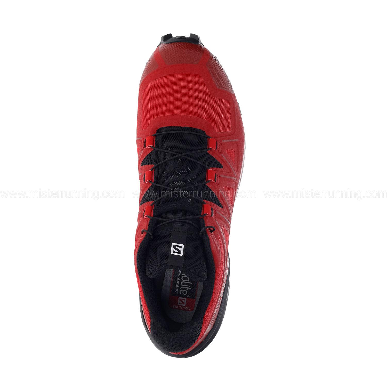 Salomon Speedcross 5 - Barbados Cherry/Black/Red Dahlia