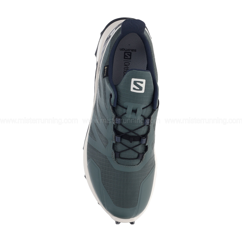 Salomon Supercross GTX - Balsam Green/Vanilla Ice/India Ink