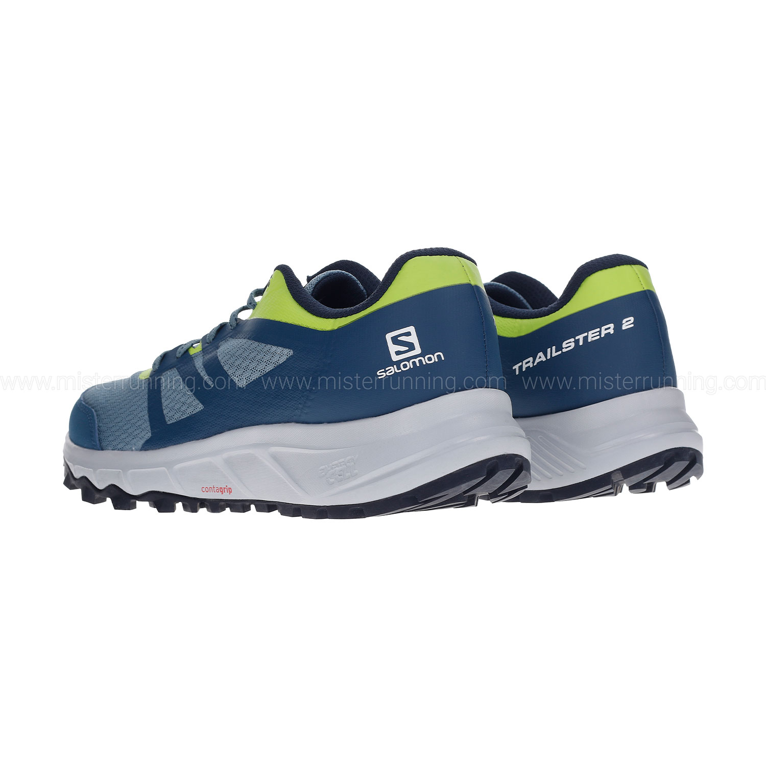 Salomon Trailster 2 - Bluestone/Poseidon/Acidlime