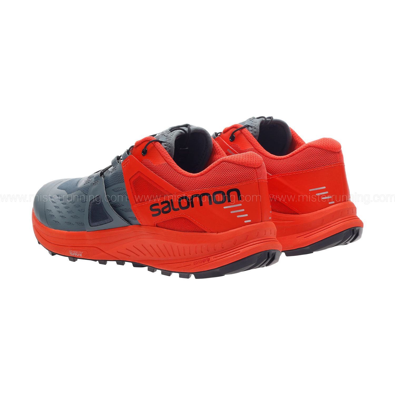 Salomon Ultra Pro - Stormy Weather/Cherry Tomato/Black