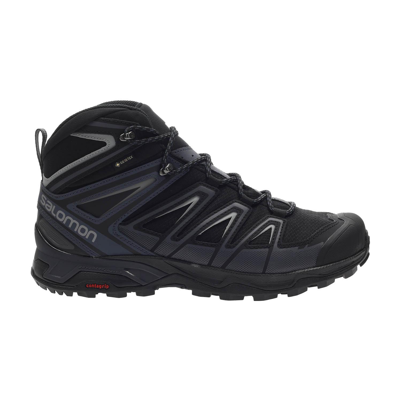 puede virar Presentar  Salomon X Ultra 3 Wide Mid GTX Men's Hiking Shoes - Black/Ink