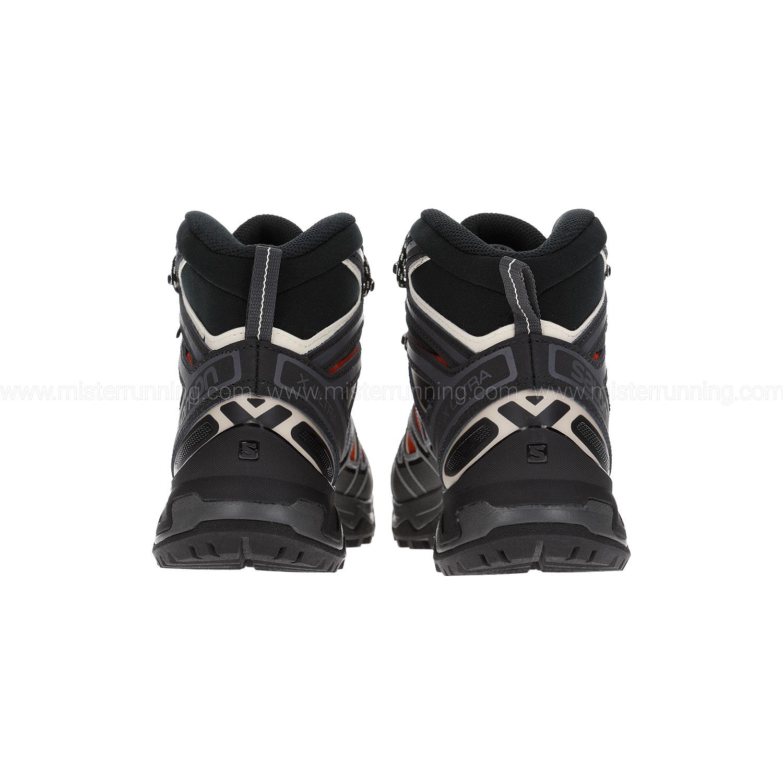 Salomon X Ultra 3 Mid GTX Scarpe da trekking Burnt Brick Black Bleached Sand | 7 (UK)