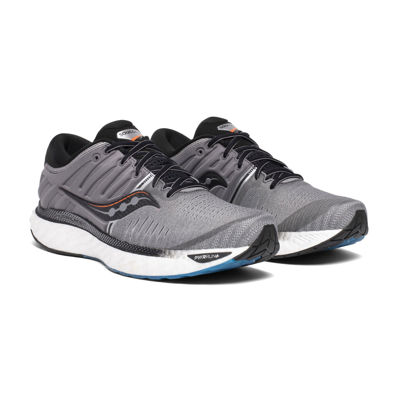 Saucony Hurricane 22 - Grey/Black