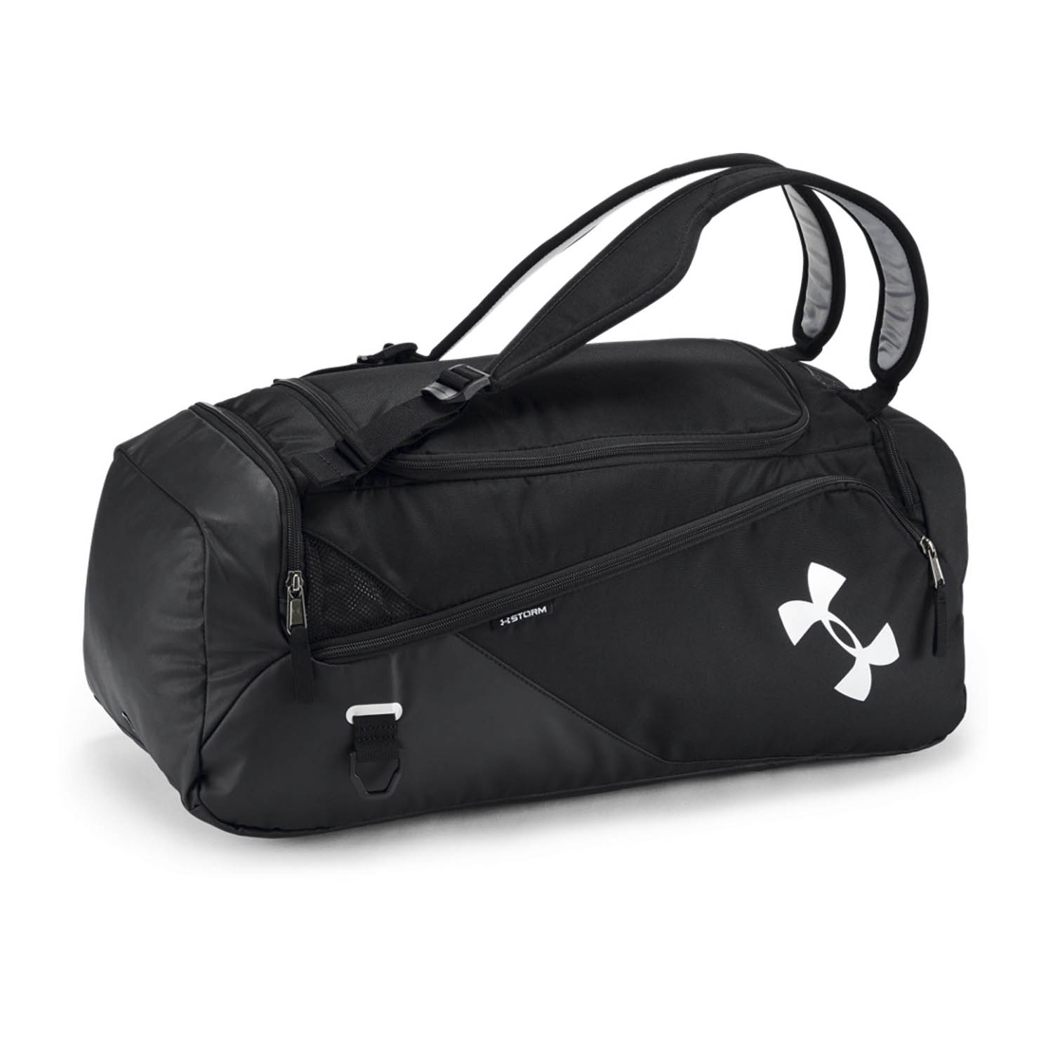 Under Armour Contain Duo 2.0 Duffle - Black/Silver