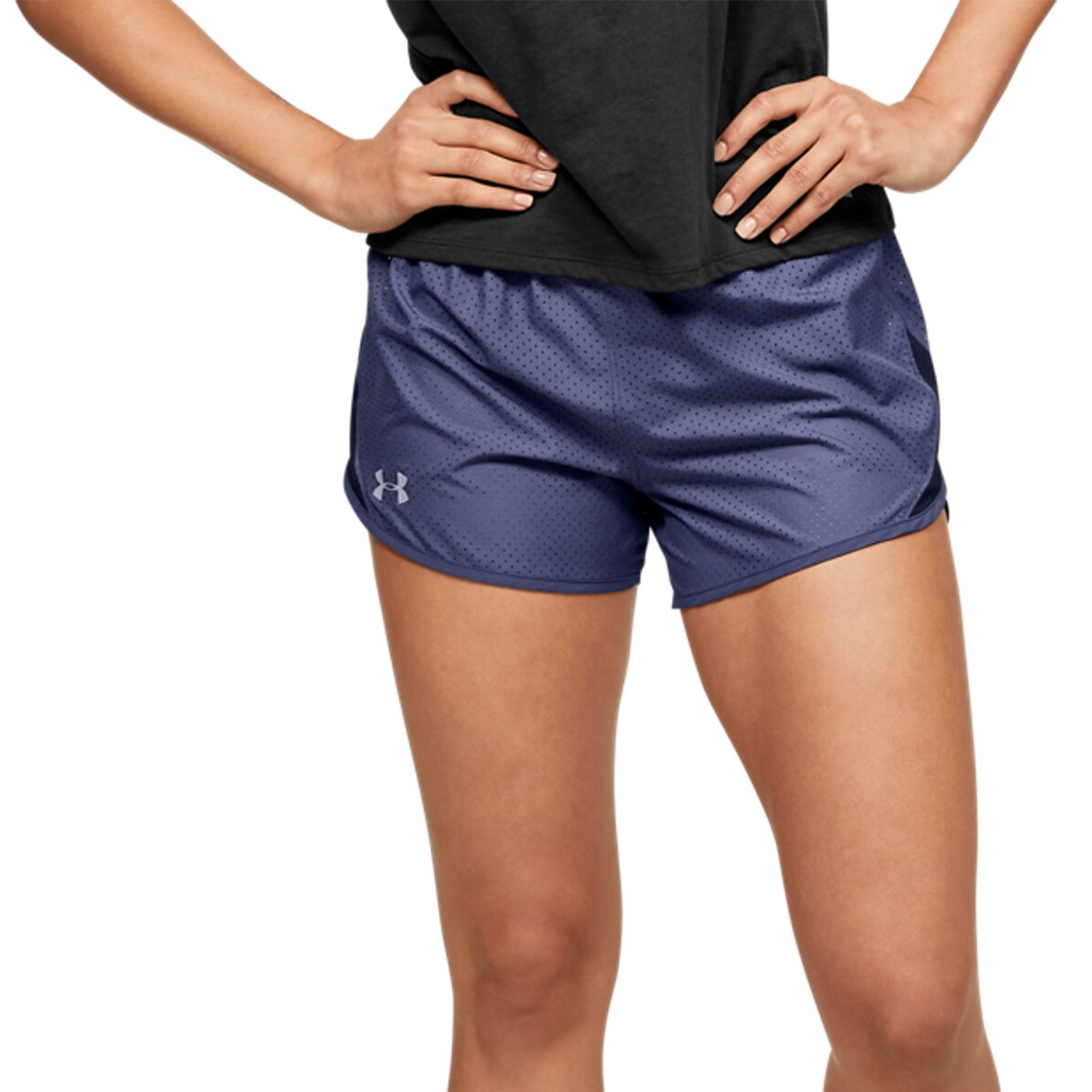 Under Armour Fly By 2.0 Cire 3in Shorts - Blue