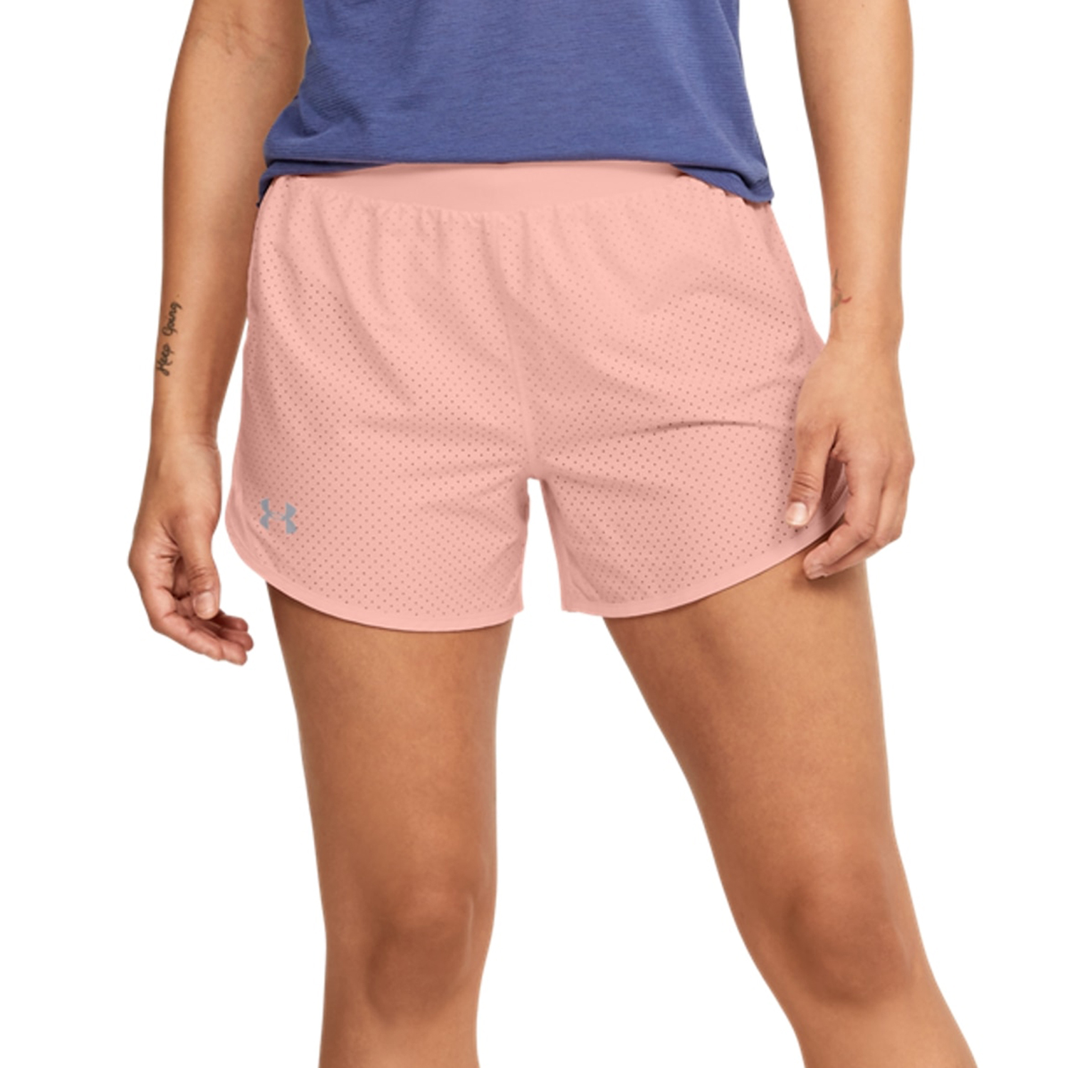 Under Armour Fly By 2.0 Cire 3in Shorts - Orange
