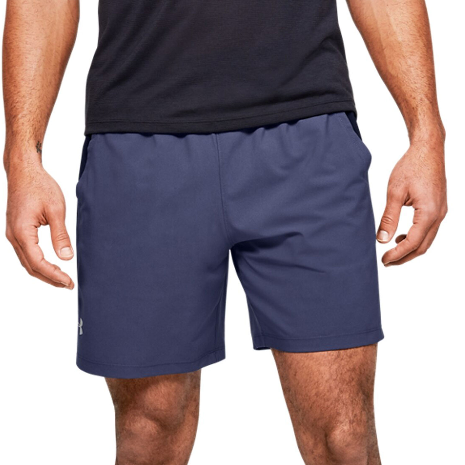 Under Armour Launch Stretch Woven 7in Shorts - Blue