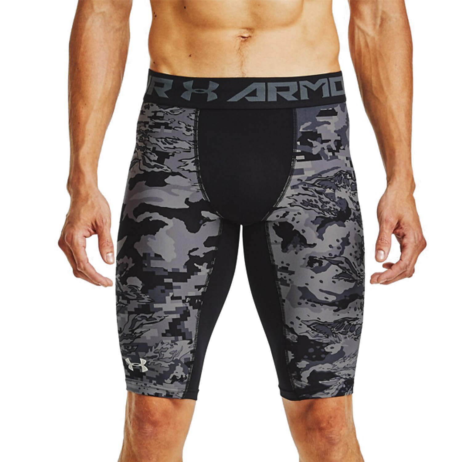 Under Armour Printed Short Tights - Black/White