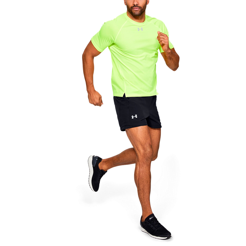 Under Armour Qualifier Speedpocket 5in Shorts - Black