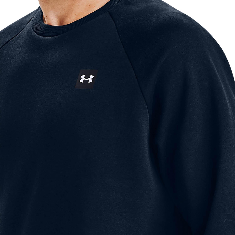 Under Armour Rival Crew Sweatshirt - Academy/Onyx White