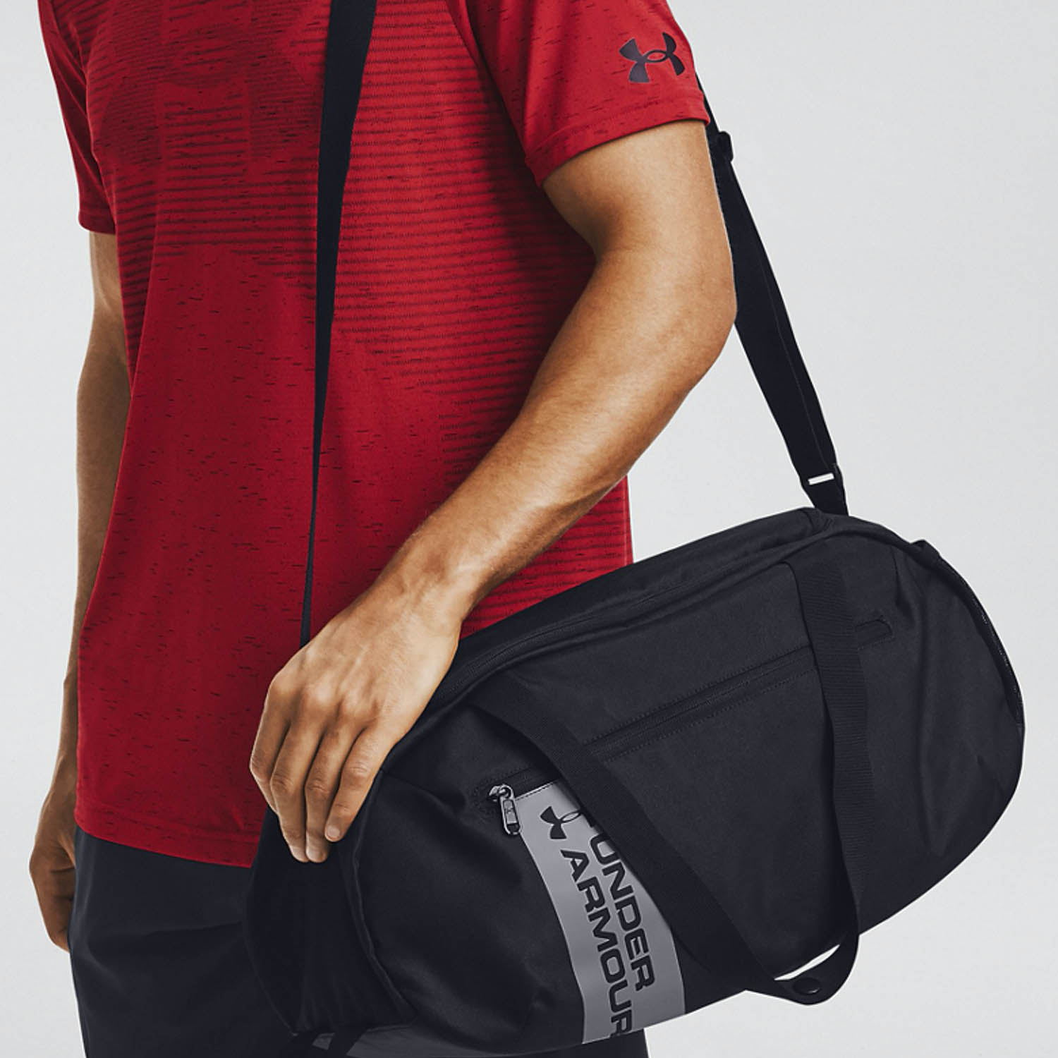 Under Armour Roland Small Duffle - Black/Steel