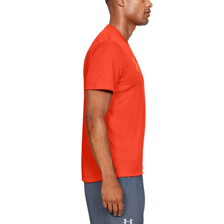 Under Armour Run Graphic Escape T-shirt - Orange