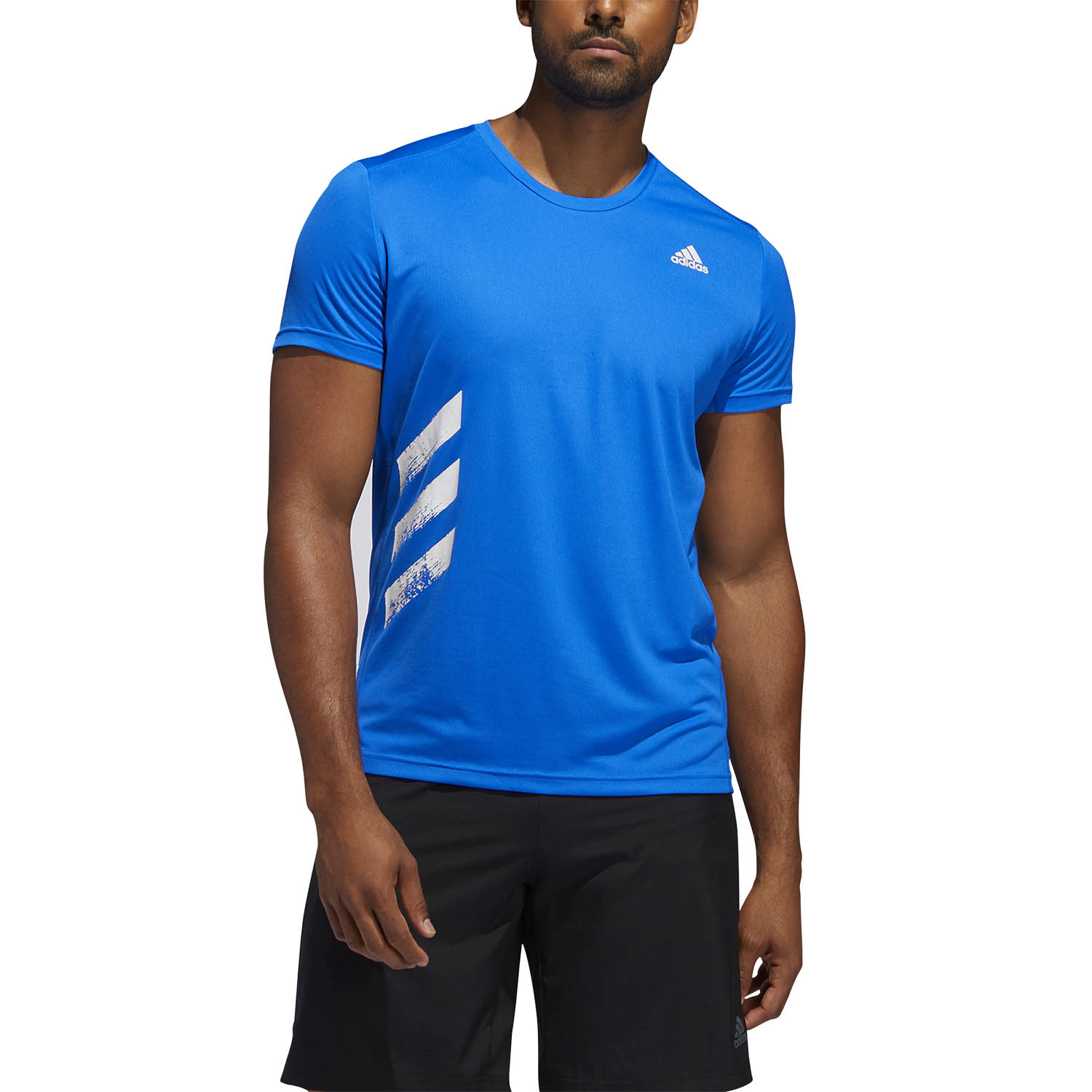 lavar Frugal Shuraba  adidas Run It Primeblue Camiseta de Running Hombre Glory Blue