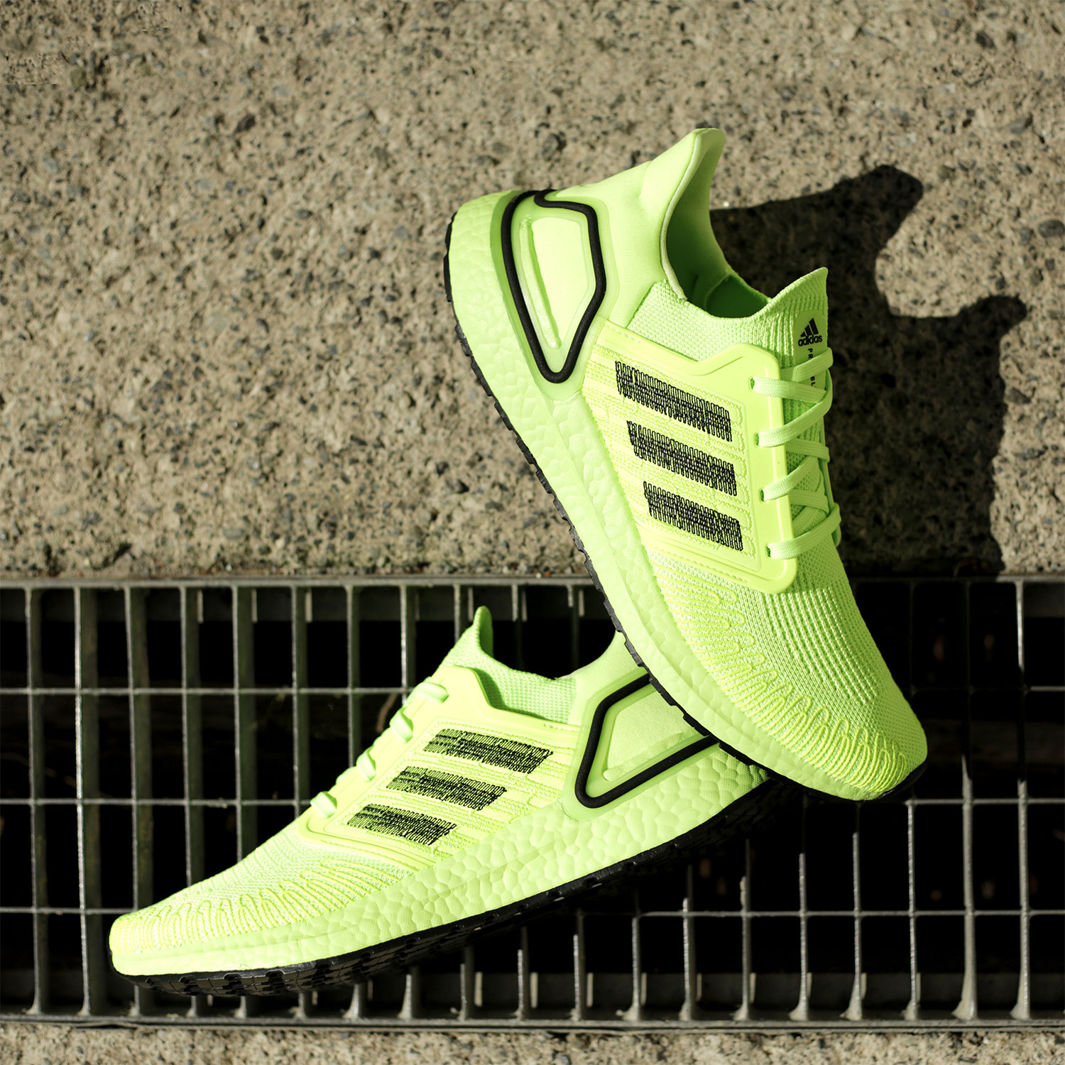 Adidas Ultraboost 20 - Signal Green/Core Black/Signal Green