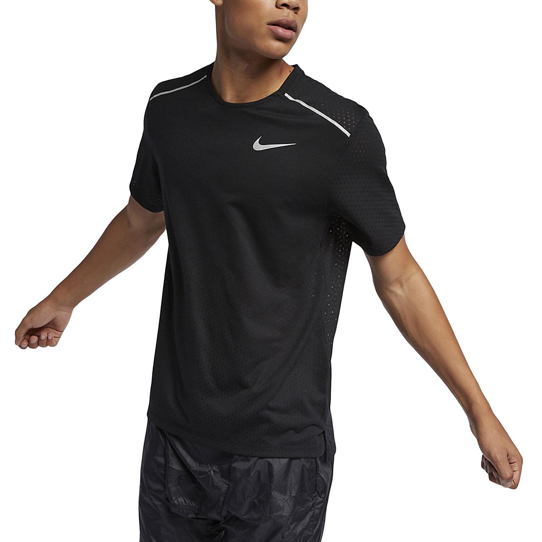 Nike Rise 365 Maglietta BlackReflective Silver