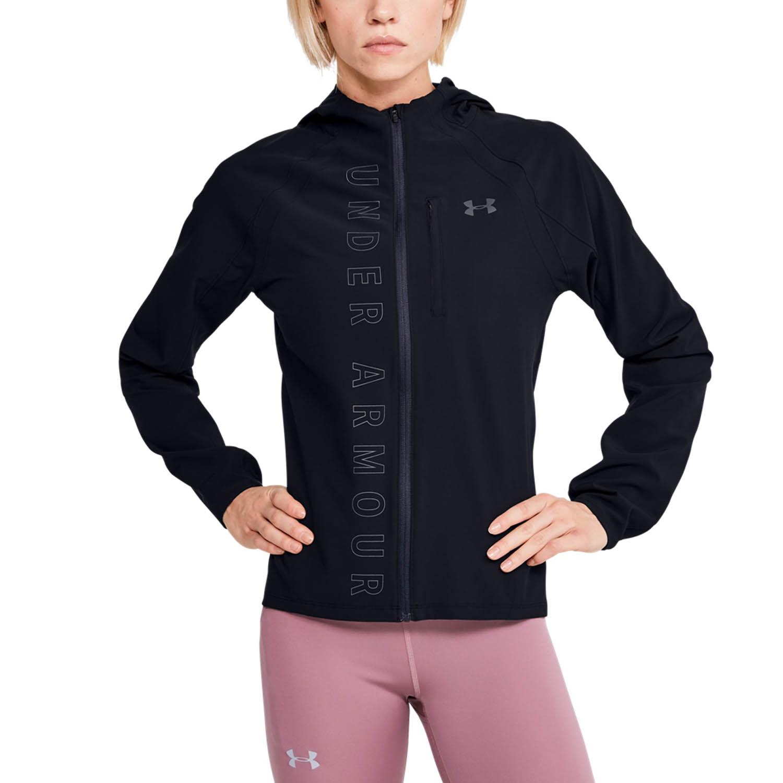disfruta el precio más bajo patrones de moda ofrecer descuentos Under Armour OutRun The Storm Chaqueta Running Mujer - Black