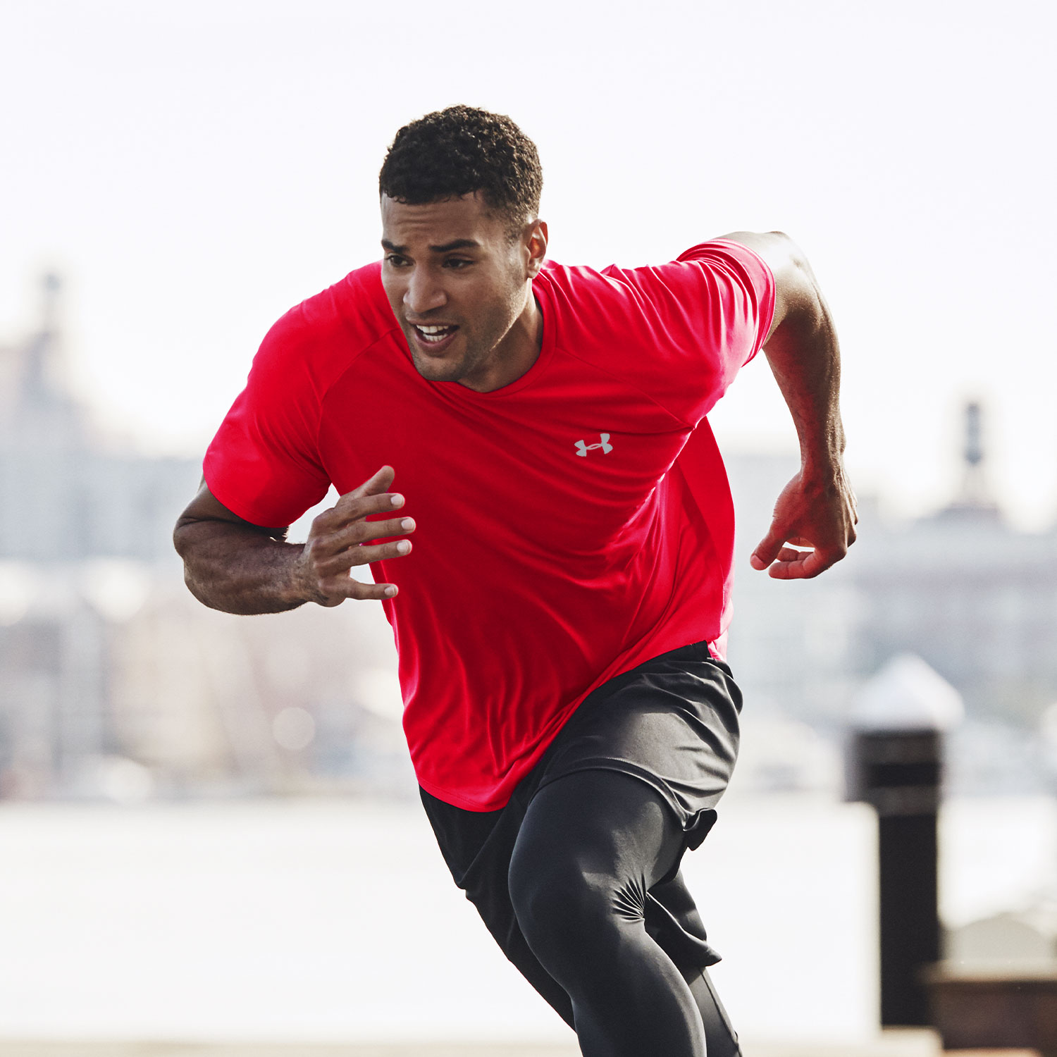 Under Armour Streaker 2.0 Shift T-Shirt - Red