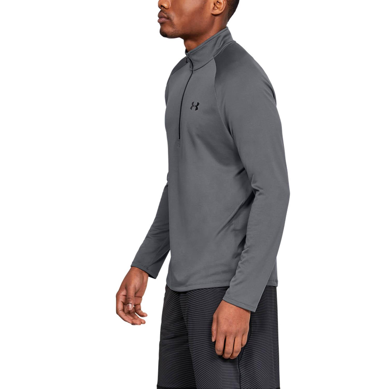 Under Armour Tech 2.0 1/2 Zip Shirt - Pitch Gray/Black