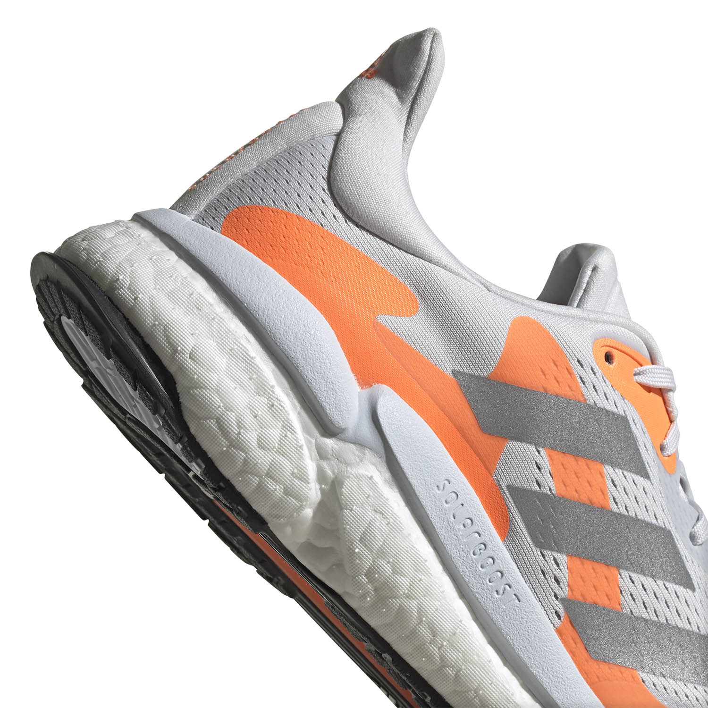 adidas Solar Boost 3 - Dash Grey/Silver Metallic/Screaming Orange