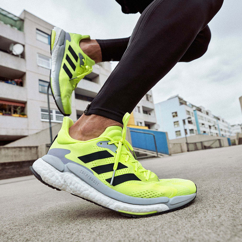 adidas Solar Boost 3 - Solar Yellow/Core Black/Halo Silver